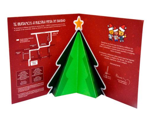 Invitación Navidad Clínica Alemana